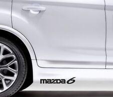 2x Side Skirt Stickers Mazda 6 Premium Qaulity Graphics Decals VL44