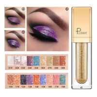 18 Colors Long Lasting Glitter Eyeshadow Liquid Glow Make Up Shimmer Cosmetics