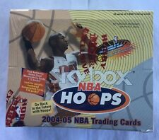 2004-05 Fleer Skybox Hoops Basketball Hobby Box Factory Sealed