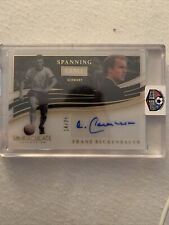 Immaculate Soccer 2020 Spanning Time Franz Beckenbauer Germany 14/25 Autograph