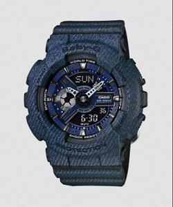 New Casio BA-110DC-2A1 Dark Blue Black Ladies Women Baby G Watch/