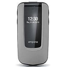 Emporia COMFORT 2.4Zoll 92g Schwarz - Silber Einsteigertelefon (V66_001)