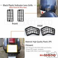 Scooter Front Rear Indicator Lens Grill Kit For Vespa PX T5 & LML Star Stella