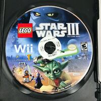 LEGO Star Wars III The Clone Wars (Nintendo Wii , 2011) Tested Game Disc Only