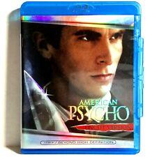 American Psycho (Blu-ray Disc, 2000, Widescreen) Like New ! Christian Bale