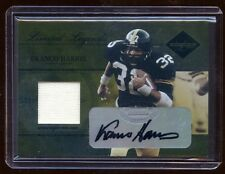 FRANCO HARRIS 2005 LIMITED LEGEND GOLD AUTO /50 GAME JERSEY  STELLERS  HOF RB
