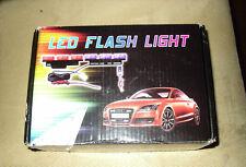 YELLOW 6x3 LED FLASH LIGHT emergency police Strobe Lights 3 modes 12V car NIB!