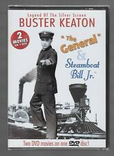 The General & Steamboat Bill Jr. - New Dvd - Buster Keaton - Double Feature