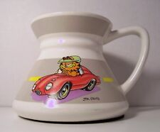 Vintage 1978 Garfield in Red Sports Car Travel Non-Slip Cup Mug Jim Davis