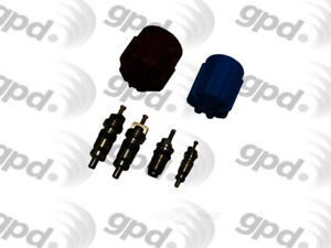 A/C System Valve Core and Cap Kit Global 1311574