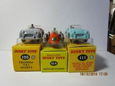 Dinky toy/Atlas Voitures et fourgons Collection, Job Lot 14 Tous en boîte made in China