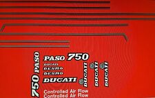 DUCATI 750 PASO  MODEL  PAINTWORK DECAL KIT
