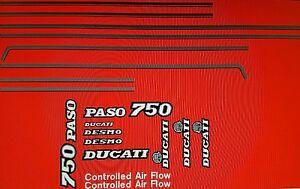DUCATI 750 PASO  MODEL  PAINTWORK DECAL KIT