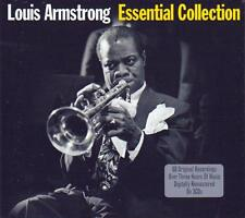 LOUIS ARMSTRONG - ESSENTIAL COLLECTION (NEW SEALED 3CD) BEST OF - GREATEST HITS
