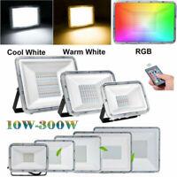 10-300W Watt RGB LED Security Flood Light Outdoor Landscape Garden Spotlight US