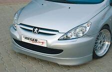 Rieger Frontspoilerlippe für Peugeot 307 04/2001-04/2005 (bis Facelift)