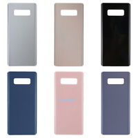 For Samsung Galaxy Note 8 N950F Rear Glass Back Door Battery Cover Case+Adhesive