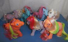 G1 Vintage My Little Pony Lot - play lot