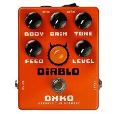 OKKO FX Effects Diablo Overdrive Distortion Guitar Pedal Brand New