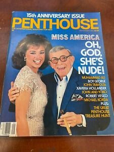 PENTHOUSE SEPTEMBER 1984 George Burns, Vanessa Williams NICE COPY