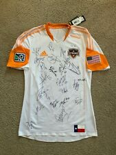 *BNWT* Adidas 2012-2013 Authentic Player Issue Houston Dynamo Away Jersey *TEAM