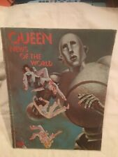 Vintage Queen News Of The World Music Song Book EMI 1977