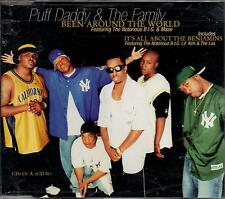 PUFF DADDY & THE FAMILY BEEN AROUND THE WORLD CD-SGL ITS ALL ABOUT THE BENJAMINS