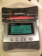 Radio Shack 43-3903 Advanced Caller Id/Call Waiting Backlit Tilting Display New
