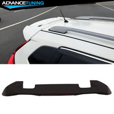 Fits 15-18 Honda Fit JDM OE RS Style Roof Spoiler Wing With LED Brake Light