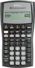 Texas Instruments avanzata Calcolatrice finanziaria BAIIPLUS