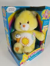Care Bear Funshine Bear Talking Jokes And Giggles Microphone 2004 NIB FUNSHINE