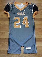 New Wilson Men's M Tennessee Volunteers Force Football Jersey #24 Grey / Orange