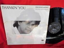 SERGIO ESPOSITO JAZZ GROUP feat Alfredo Golino Thankin' you LP 1988 GERMANY M-