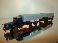 PARADE 4203 BUSSING 8000 1954 TRUCK + TRAILER - BLUE 1:43? - VERY GOOD CONDITION