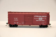 6205/_BRANCHLINE TRAINS HO SCALE PENNSYLVANIA RR BOXCAR UNBUILT PLASTIC KIT NOS