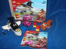 Lego Duplo Cars Holly Shiftwell Pink Auto Lady Siddeley Flugzeug 6134 OVP + BA