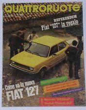 QUATTRORUOTE 5/1977 MERCEDES 200 D – VAUXHALL CHEVETTE GLS – FIAT 127