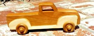 1950 CHEVY 3100 PICK UP TRUCK HANDMADE VINTAGE WOOD TOY CAR