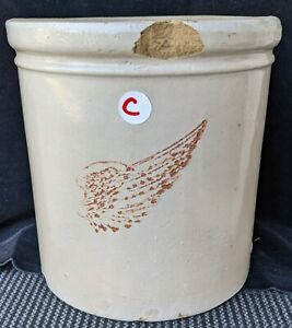 Red Wing 1 Gallon Crock Large Wing One Stoneware Minnesota Company Butter C