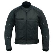 Warrior Noir Moto Moto Summer Mesh Respirant CE Armour Veste de motard