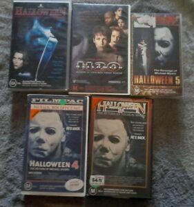Halloween VHS Video vhs horror cult lot