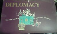 DIPLOMACY CLASSIC VINTAGE BOARD GAME OF INTERNATIONAL INTRIGUE 1962 COMPLETE VGC