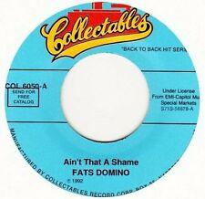 "Fats Domino 45RPM Doo Wop & 1950s Rock 'n' Roll 7"" Singles"