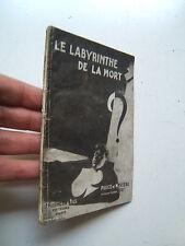 POLICE ET MYSTERE 38 / REMONT / LE LABYRINTHE DE LA MORT / FERENCZI / 1933