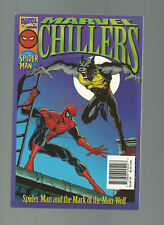 Marvel Comics Marvel Chillers Spider-Man And The Mark Of The Man-Wolf Paperback