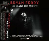 BRYAN FERRY LIVE IN JPN 2019 COMPLETE 4CD SILVER MASTERPIECE XAVEL-SMS-189