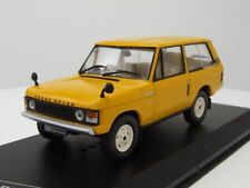 Land Rover Range Rover 3.5 RHD 1970 jaune  WHITEBOX 1/43