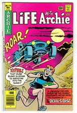 "Life With Archie #175 (11/76)-Vg+ / ""The Devil's Disc"", Mystery story/cover^"