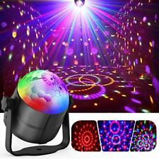 Party Lights, Gvoo Sound Activated DJ Disco Lights Rotating Ball Lights 5W 7