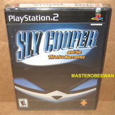 Sly Cooper and the Thievius Raccoonus PlayStation 2 PS2 1st print New Sealed